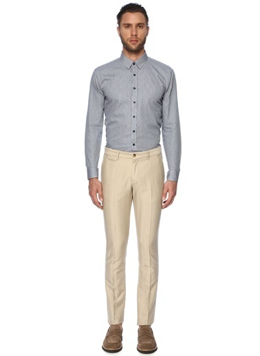 NetWork Erkek 1067145 Slim Fit Pantolon Bej